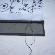 1pcs-Sheer-Liftable-Organza-Embroidered-Kitchen-Curtains-Roman-Window-ShadesGrey39x55-0-2
