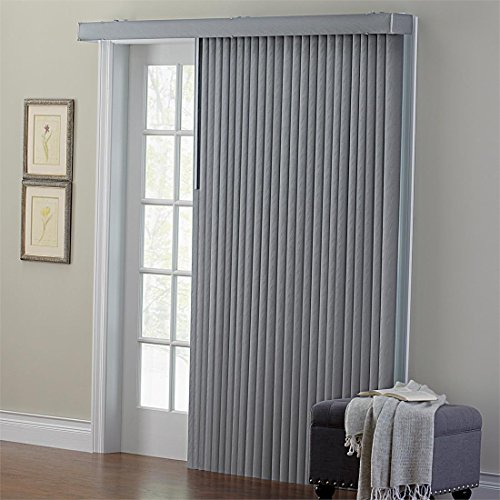 Curtains Ideas Brylane Home Curtains : Brylanehome Embossed Vertical Blinds  (Grey,42u2033 W