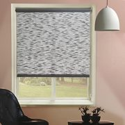 Chicology-Roller-Shade-Clutch-Lift-System-Continous-Loop-Privacy-Fabric-Candyfloss-Coal-Grey-23x64-0-0