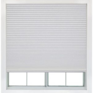 Easy-Lift-36-inch-by-64-inch-Trim-at-Home-fits-windows-21-inches-to-36-inches-wide-Cordless-Honeycomb-Cellular-Shade-Light-Filtering-White-0
