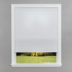 Easy-Lift-Trim-at-Home-Cordless-Cellular-Light-Filtering-Fabric-Shade-White-36-in-x-64-in-Fits-windows-19-36-0
