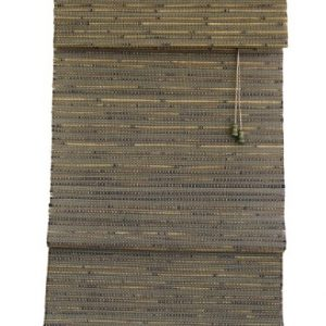 Lewis-Hyman-0291452-Rangoon-Woven-Wood-Bamboo-Roman-Shade-52-Inch-Wide-by-64-Inch-Long-Green-Tea-0