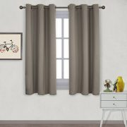 Nicetown-Window-Treatment-Thermal-Insulated-Solid-Grommet-Blackout-Curtains-Drapes-for-Bedroom-Set-of-2-Panels42-by-63-InchTaupe-Khaki-0
