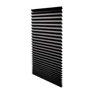 Quick-Fix-Blackout-Pleated-Paper-Shade-Black-36-x-72-6-Pack-0