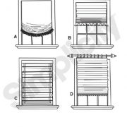 Simplicity-1683-Roman-Shades-in-4-Styles-Sewing-Pattern-Size-OS-One-Size-0-0