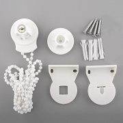 Soledi-Window-Treatments-Hardware-Blinds-Shades-Roller-Blind-Shade-Cluth-Parts-DIY-Bracket-Bead-Chain-25mm-Kit-Control-Ends-0-0