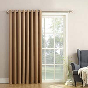 Sun-Zero-Barrow-Extra-Wide-Energy-Efficient-Grommet-Patio-Door-Curtain-Panel-100-x-84-Inch-Taupe-0